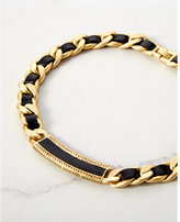 Express house of harlow helicon braided collar necklace