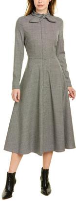 Escada Damera Wool-Blend Shift Dress