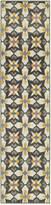 """Jhb Design Closeout! Jhb Design Soleil Starlight 1'10"""" x 7'6"""" Indoor/Outdoor Runner Rug"""