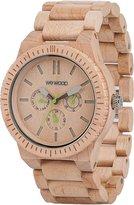 WeWood watch Wood / wood multi-function KAPPA BEIGE 9818027 Men's [regular imported goods]