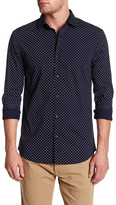 Scotch & Soda Long Sleeve Printed Woven Shirt