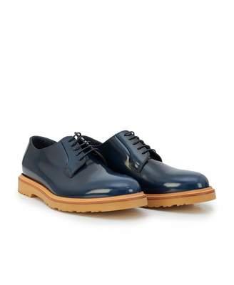 Paul Smith Edward Chunky Derby Shoes Colour: BLUE, Size: UK 7