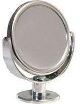 Floxite FL-83FMC Vanity Magnifying Mirror - 8x Magnification & 3x Magnification - Chrome/Frosted White by