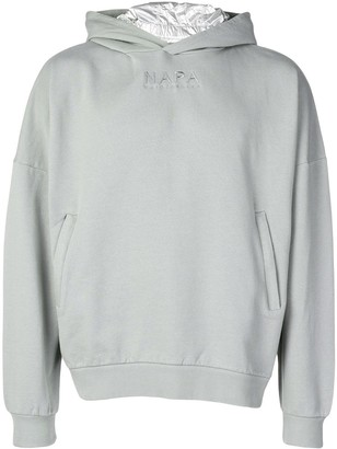 Martine Rose Napa By embroidered logo hoodie