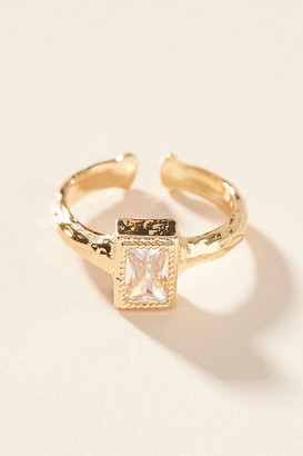 Anthropologie Della Ring By in Gold Size 6