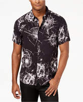 GUESS Men's Shattered Glass Print Shirt