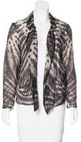 Raquel Allegra Silk Tie-Dye Jacket