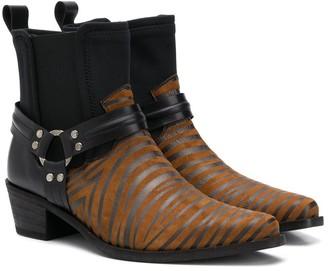 Cinzia Araia Kids Ankle Cowboy Boots