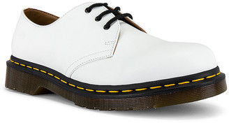 Dr. Martens 1461 Smooth Buck in White   FWRD