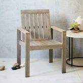 west elm Portside Dining Armchair - Weathered Gray