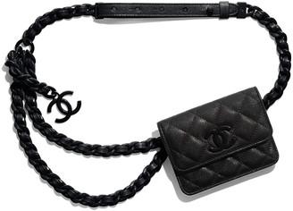 Chanel Belt Flap Card Holder
