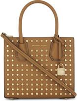 MICHAEL Michael Kors Mercer studded medium leather shoulder bag