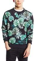 French Connection Men's Dark Jungle Punch Sweatshirt