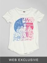 Junk Food Clothing Kids Girls Star Wars Tee-sugar-s