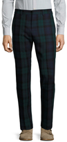 Gucci Plaid Flat Front Trousers