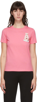 Moschino Pink Teddy Cake Icon T-Shirt