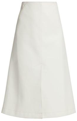 ANNA MASON Ruth A-Line Midi Skirt