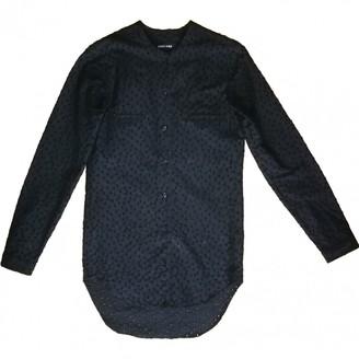 Damir Doma Black Cotton Top for Women