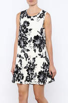 Ark & Co Black White Dress
