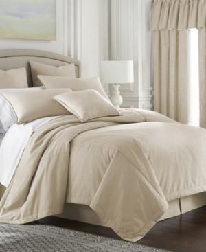 Colcha Linens Cambric Vanilla Comforter-Full Bedding