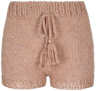Yuyaykim Pink Hand-Knitted Shorts