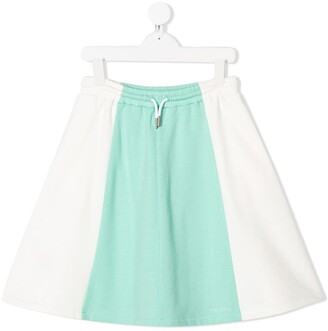 Marni Colour Block Jersey Skirt