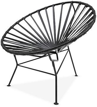 Mexa Sayulita Lounge Chair - Black Leather