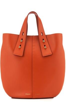 Frame Medium Les Second Vase Leather Shoulder Bag