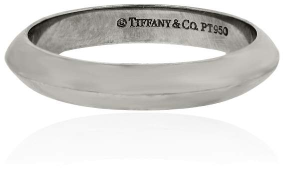 Tiffany & Co. Platinum Wedding Ring Size 5.5
