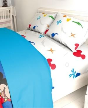 Disney Mickey Mouse 3-Pc. Twin Sheet Set Bedding