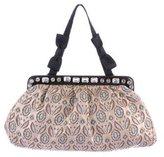 Miu Miu Embellished Brocade Bag