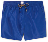 Paul Smith Slim-fit Mid-length Swim Shorts - Royal blue
