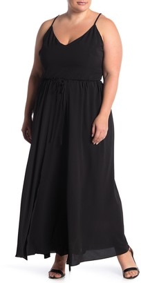 City Chic Divine Overlay Maxi Dress (Plus Size)