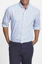 Bonobos Hubert Tattersall Long Sleeve Standard Fit Sport Shirt