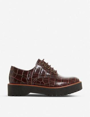 Bertie Federo croc-embossed leather shoes
