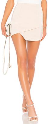 superdown Saira Satin Mini Skirt