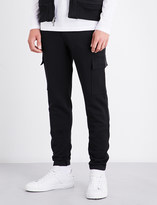Michael Kors Cargo flap-pocket cotton-jersey jogging bottoms