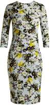 Erdem Allegra Lenten Field-print jersey midi dress