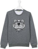 Kenzo sequin embroidered tiger sweatshirt