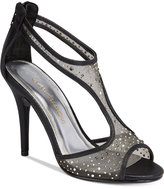 Caparros Hope Mesh Peep-Toe Evening Sandals Women's Shoes