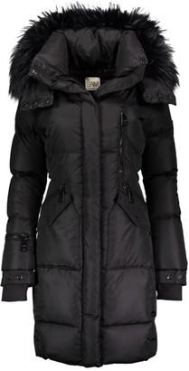 SAM. Highway Fur-Trim Down Puffer Coat