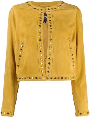 Just Cavalli stud detail jacket