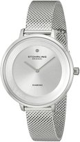 Stuhrling Original Women's 589.01 Symphony Analog Display Quartz Watch