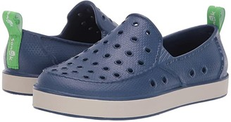 Sanuk Lil Walker (Little Kid/Big Kid) (Navy/Peyote) Kids Shoes
