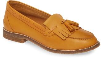 Seychelles Cloak Leather Kiltie Loafer