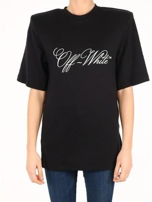 Off-White Padded Shoulder T-Shirt