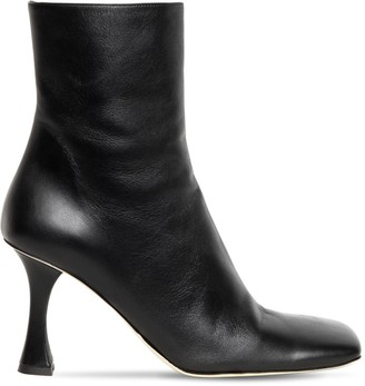 Proenza Schouler 90mm Leather Ankle Boots