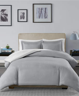 Madison Home USA Essentials Hayden Reversible 3-Pc. King/California King Duvet Cover Set Bedding