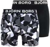 Björn Borg Forest 2 Pack Shorts Black