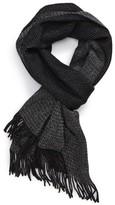 BOSS Men's Albas Wool Scarf